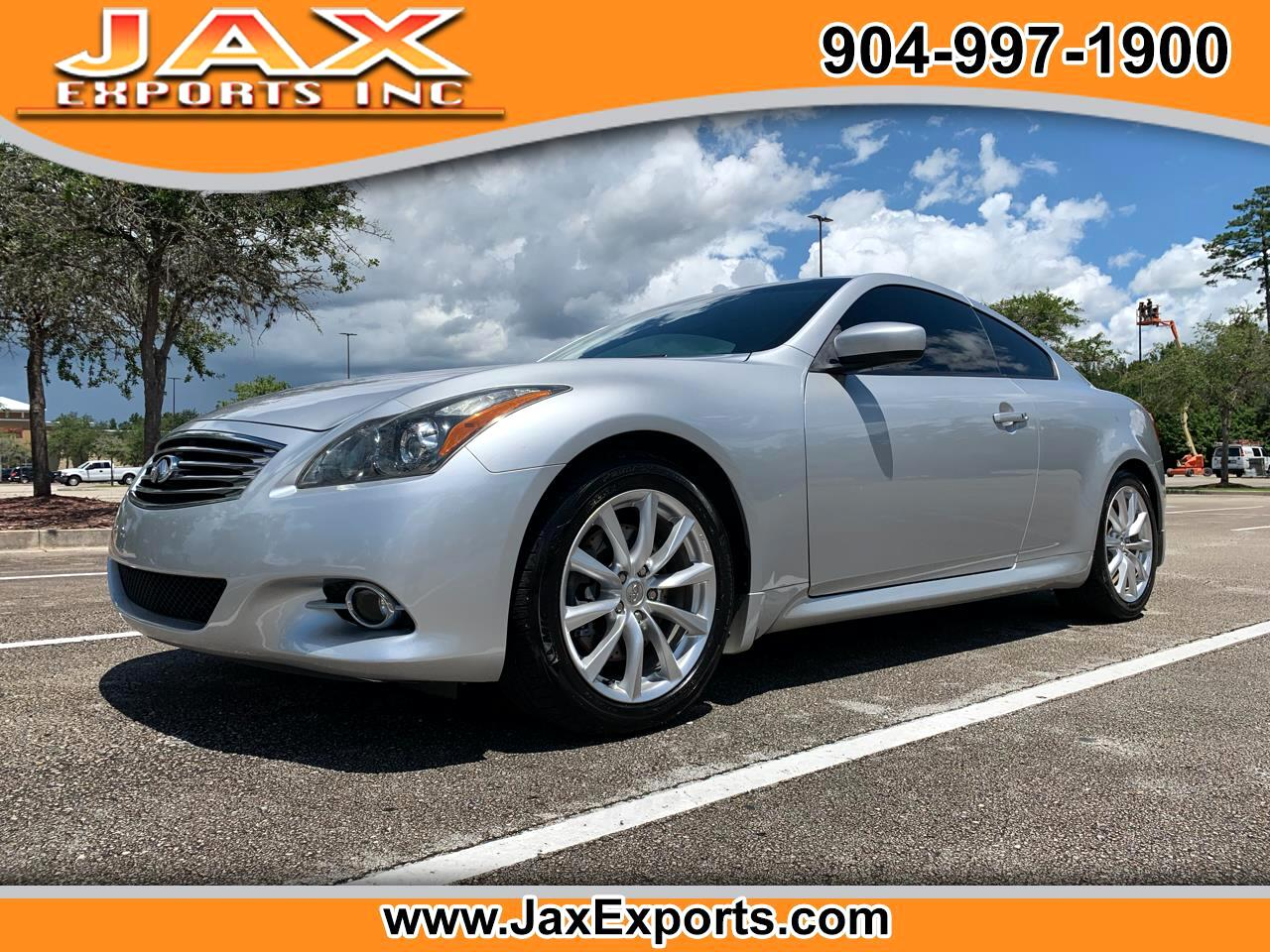 Infiniti G37 Coupe 2dr Journey RWD 2011