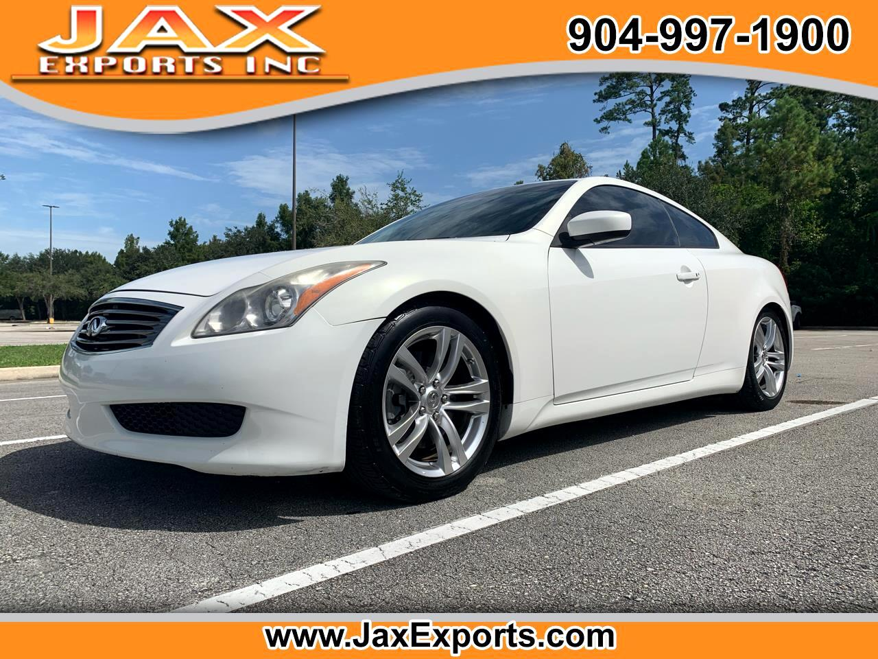 Infiniti G37 Coupe 2dr Journey RWD 2009