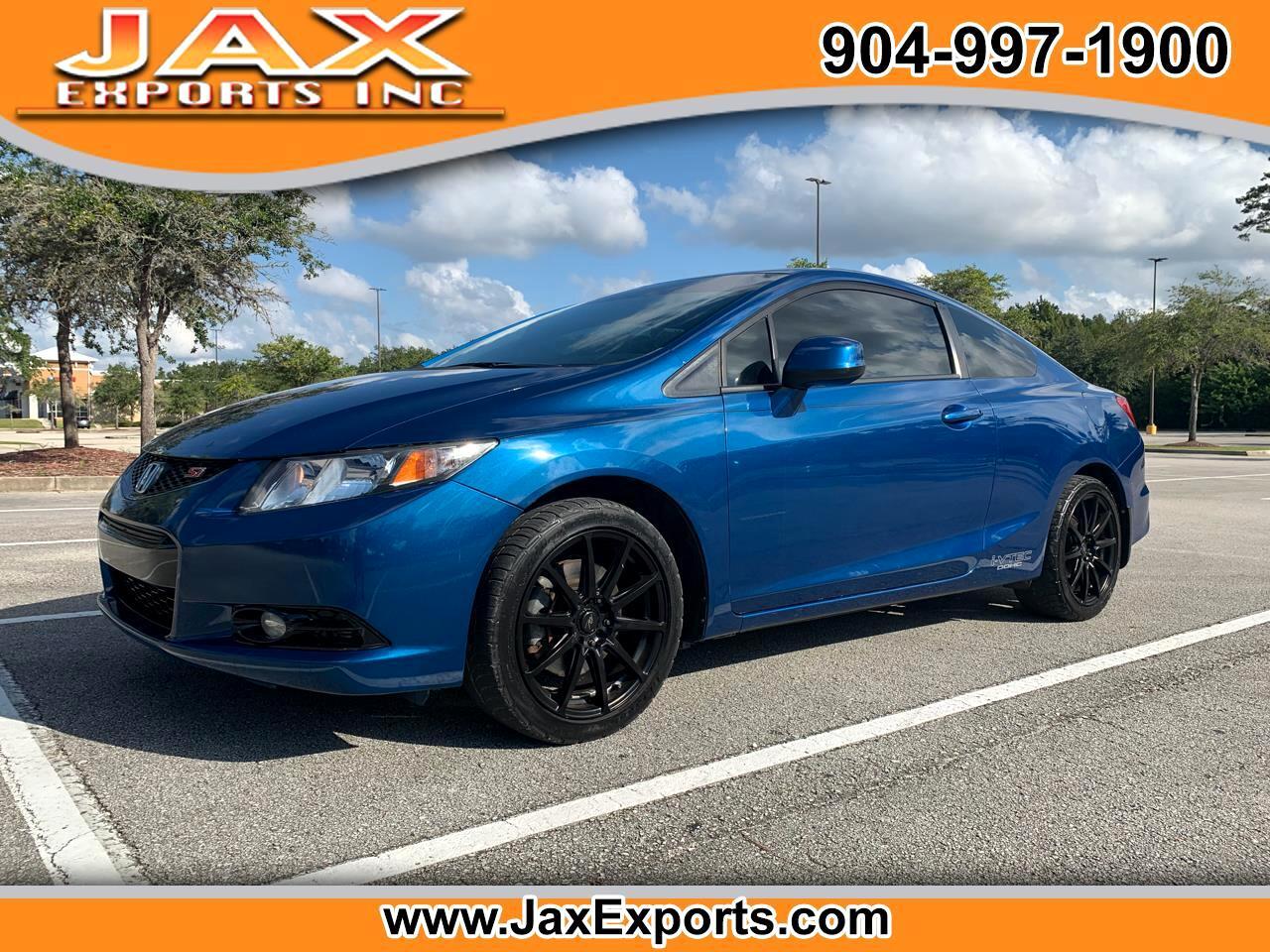 2013 Honda Civic Cpe 2dr Man Si