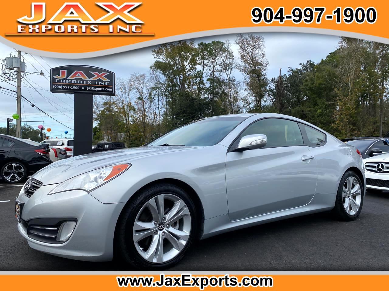 Hyundai Genesis Coupe 2dr 3.8L Auto Grand Touring w/Blk Lth 2011