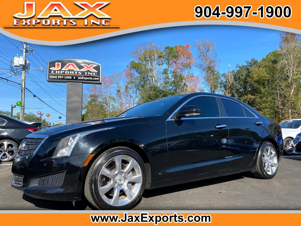 Cadillac ATS 4dr Sdn 2.5L Luxury RWD 2013