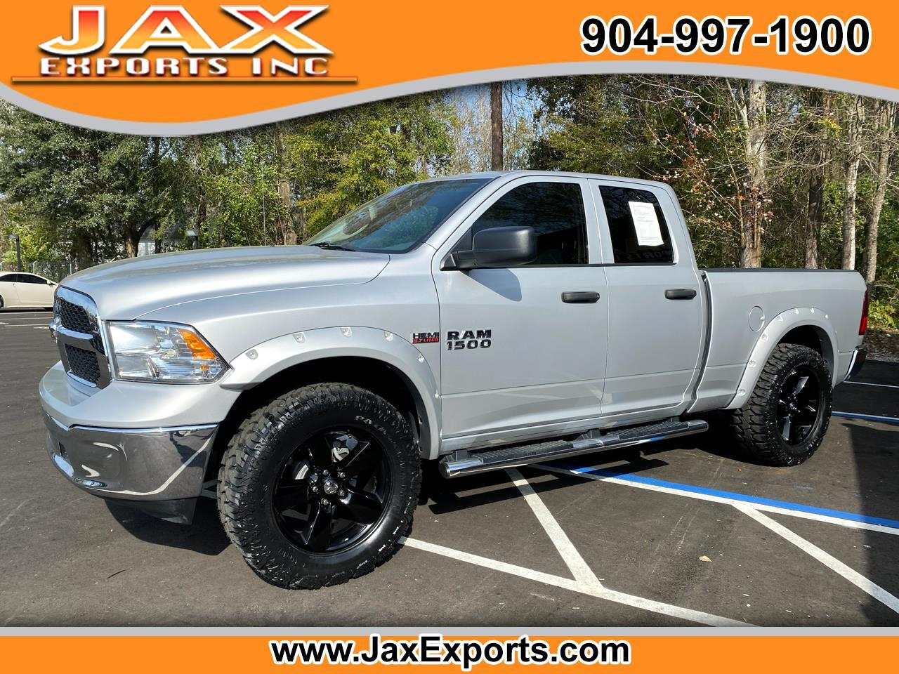 "RAM 1500 Tradesman 4x4 Quad Cab 6'4"" Box 2017"