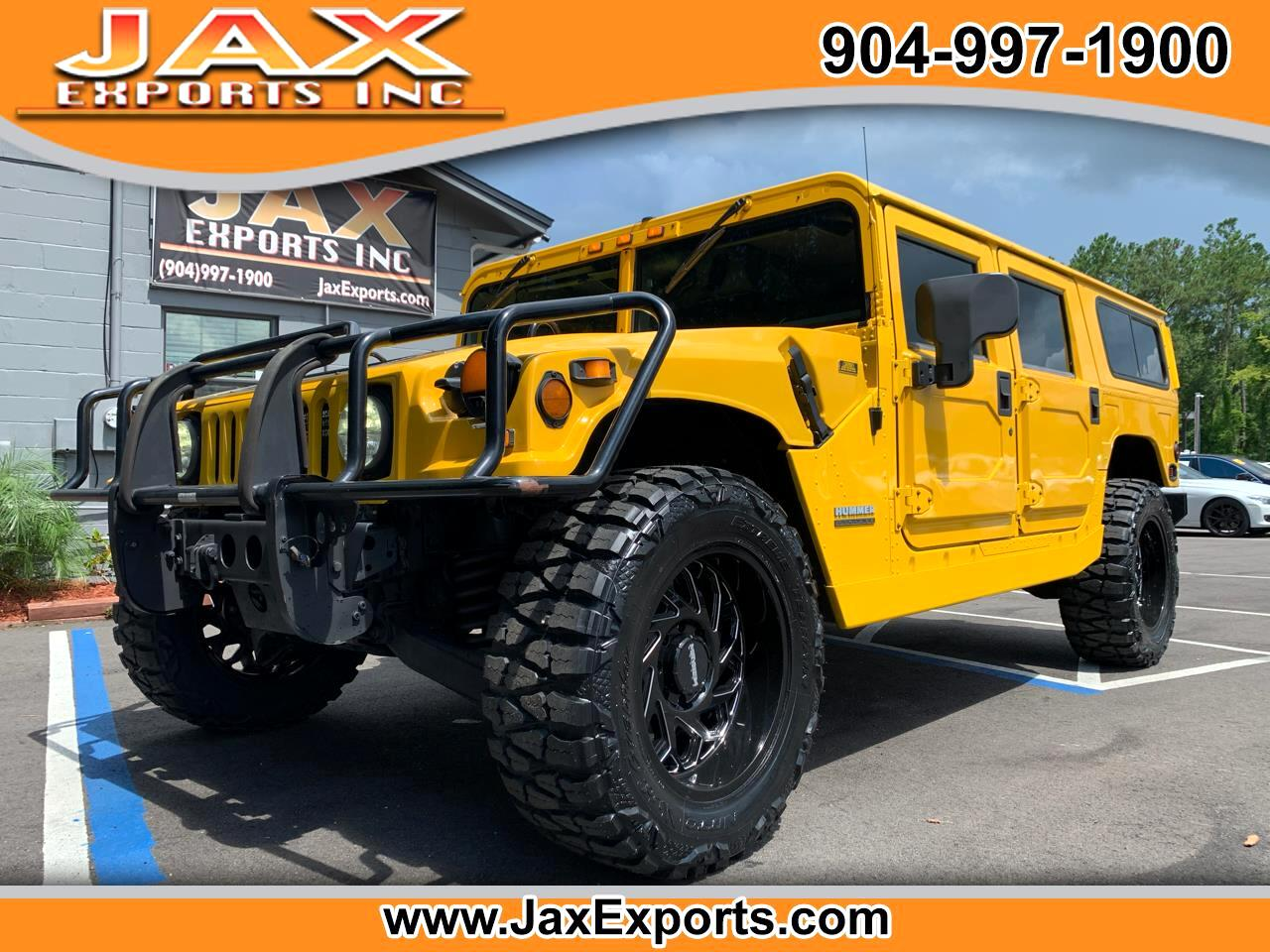AM General Hummer 4-Passenger Wgn Enclosed 2001