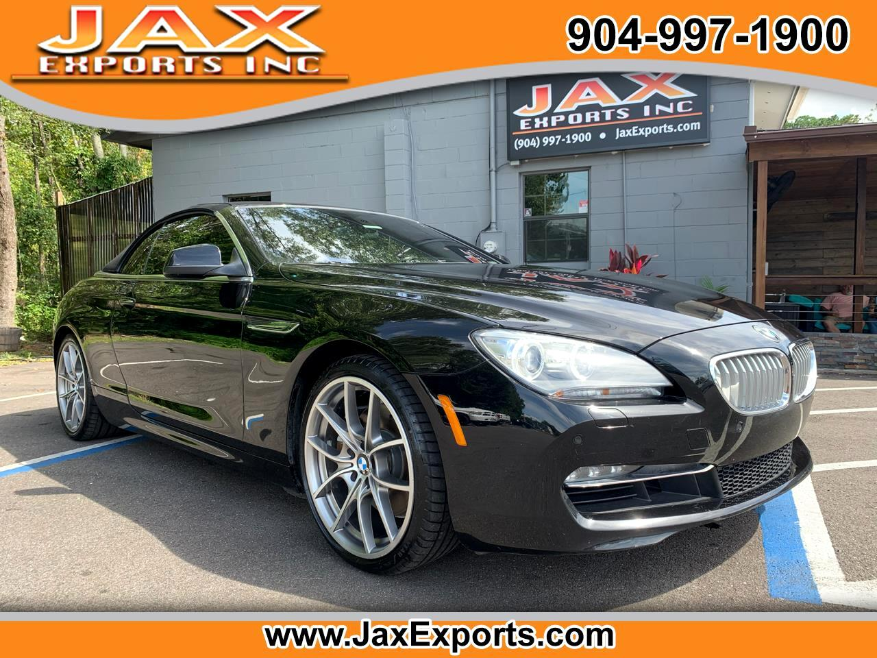BMW 6 Series 2dr Conv 650i 2012