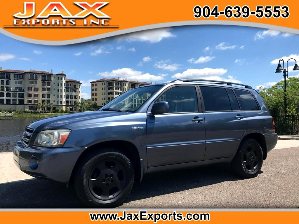 2005 Toyota Highlander 4WD 4dr V6  Limited (Natl)