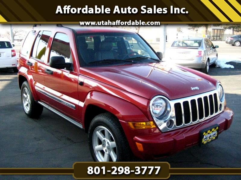 Liberty Auto Sales >> Used 2006 Jeep Liberty Limited 4wd For Sale In Salt Lake