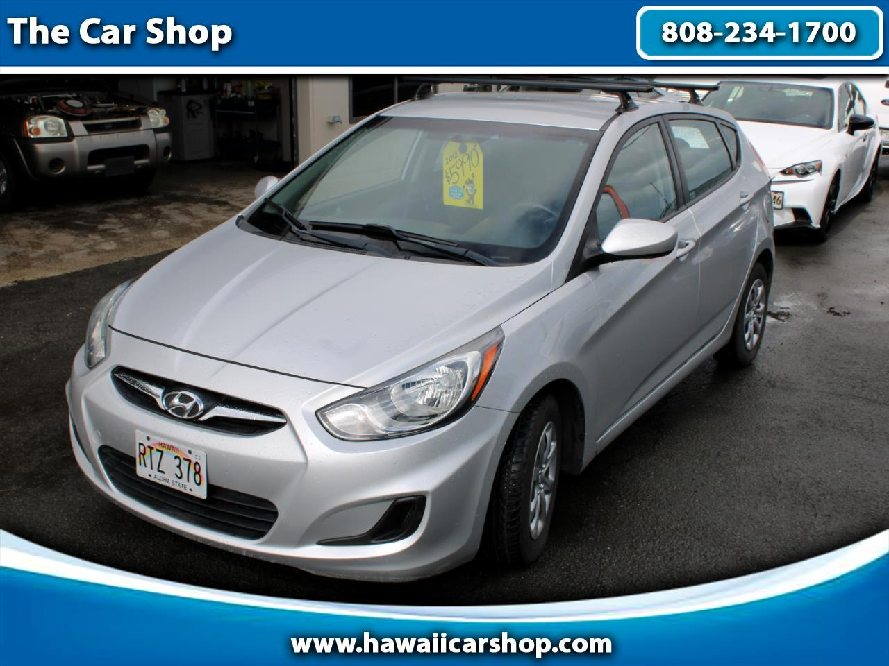 Hyundai Accent GS 5-Door 2012