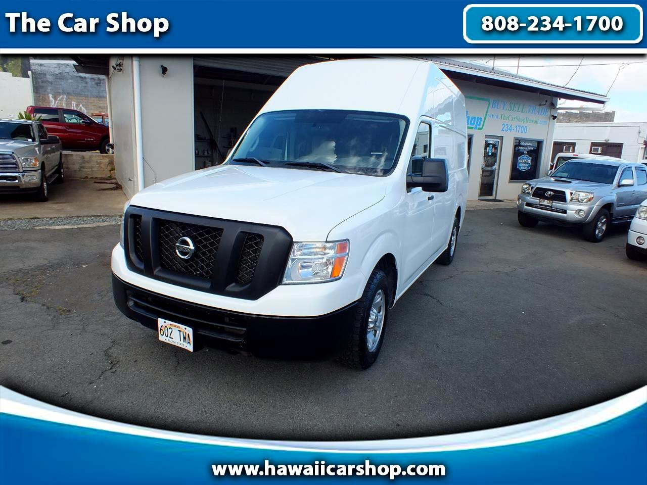 Nissan NV Cargo 2500 HD S V6 High Roof 2012