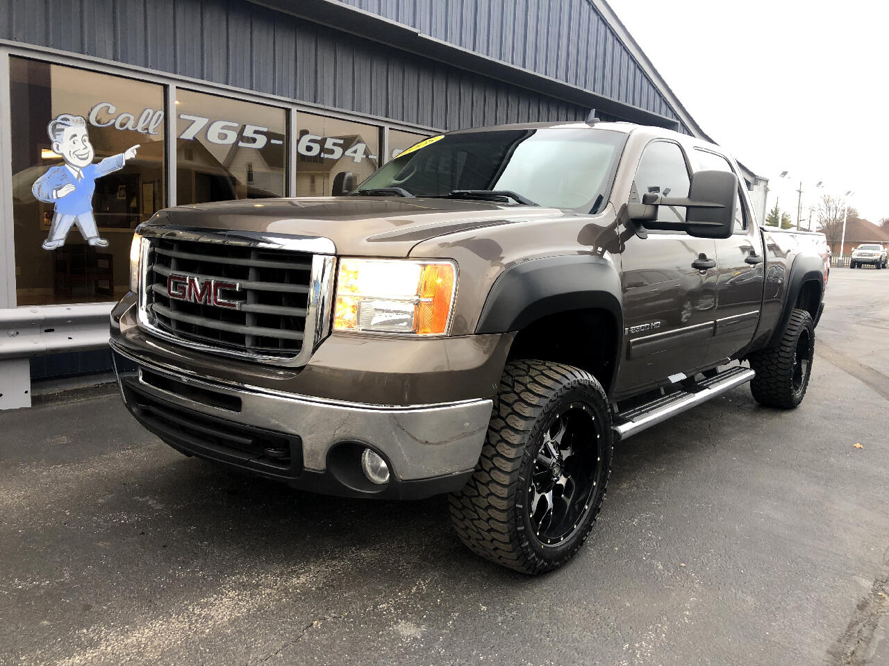 2008 GMC Sierra 2500HD SLE1 Crew Cab Std. Box 4WD
