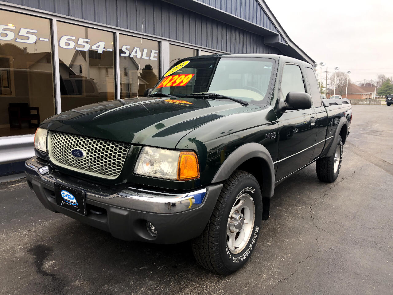 2001 Ford Ranger XLT SuperCab 4.0 Flareside w/Off-Road 4WD