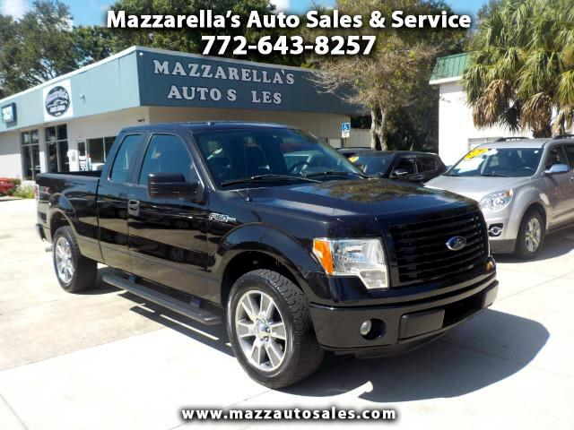 "2014 Ford F-150 2WD SuperCab 133"" STX"