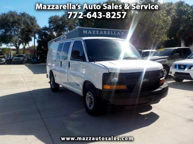 "2005 Chevrolet Express Cargo Van 2500 135"" WB RWD"