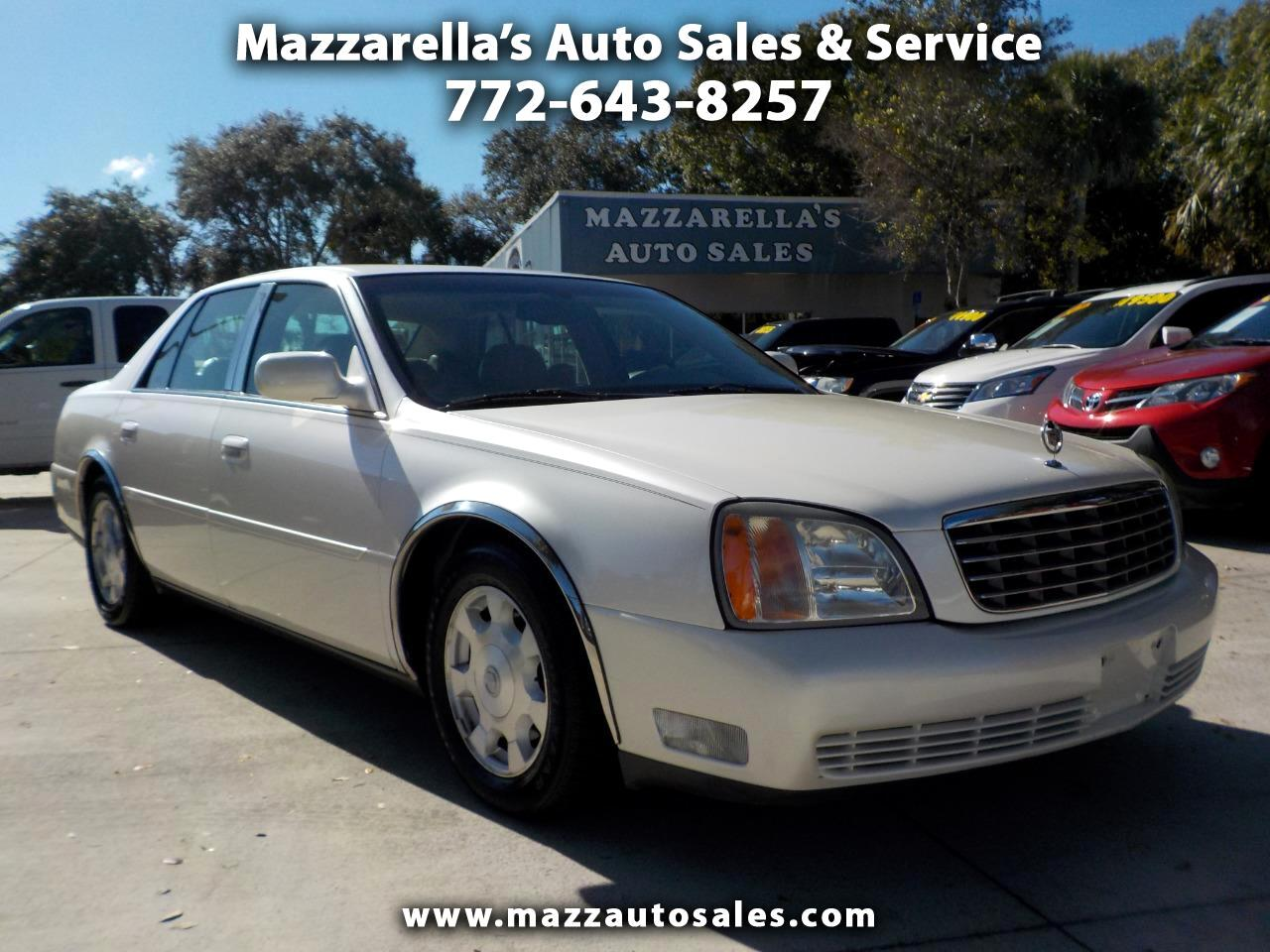 2002 Cadillac DeVille 4dr Sdn