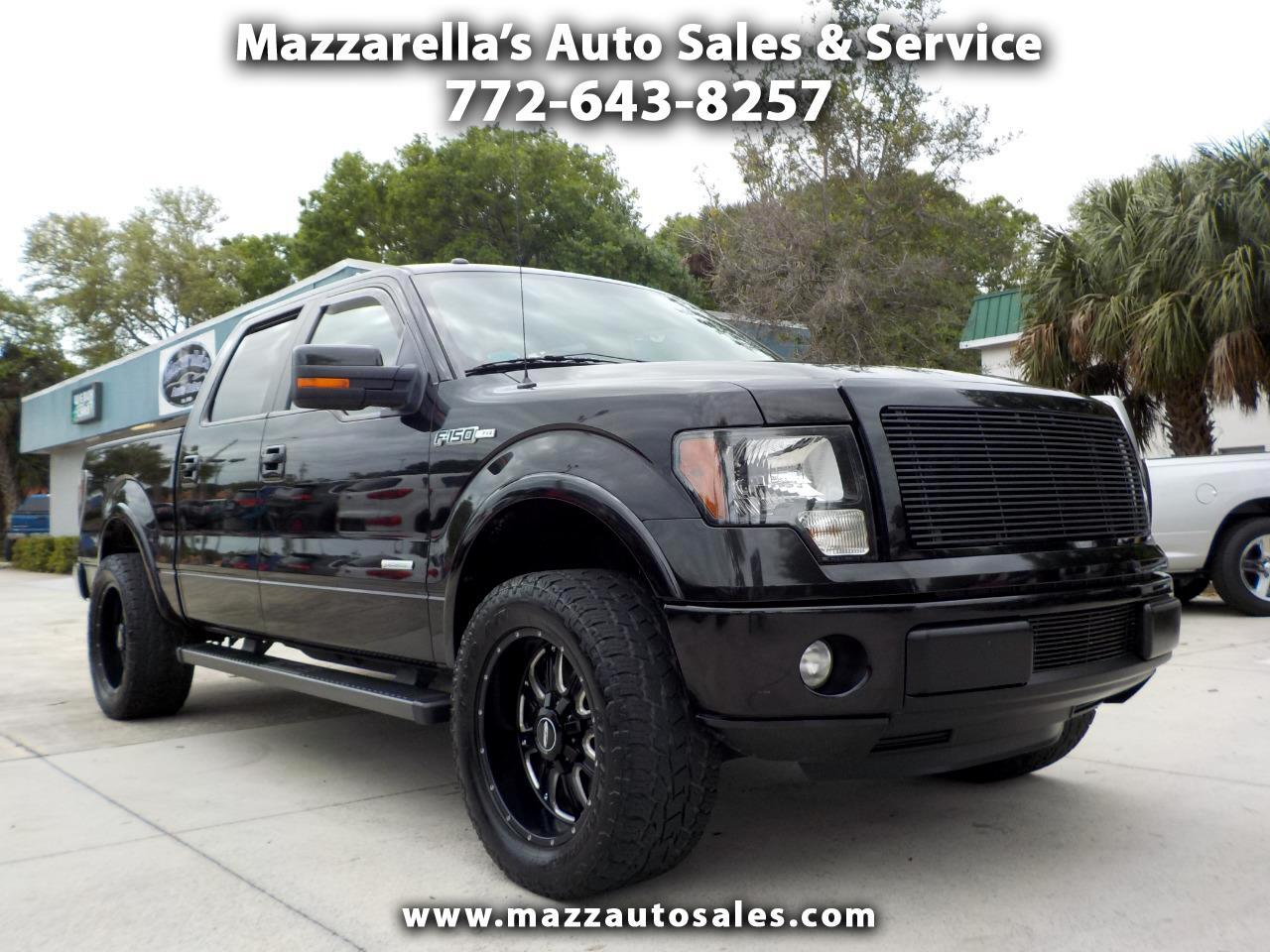"2012 Ford F-150 2WD SuperCrew 145"" FX2"