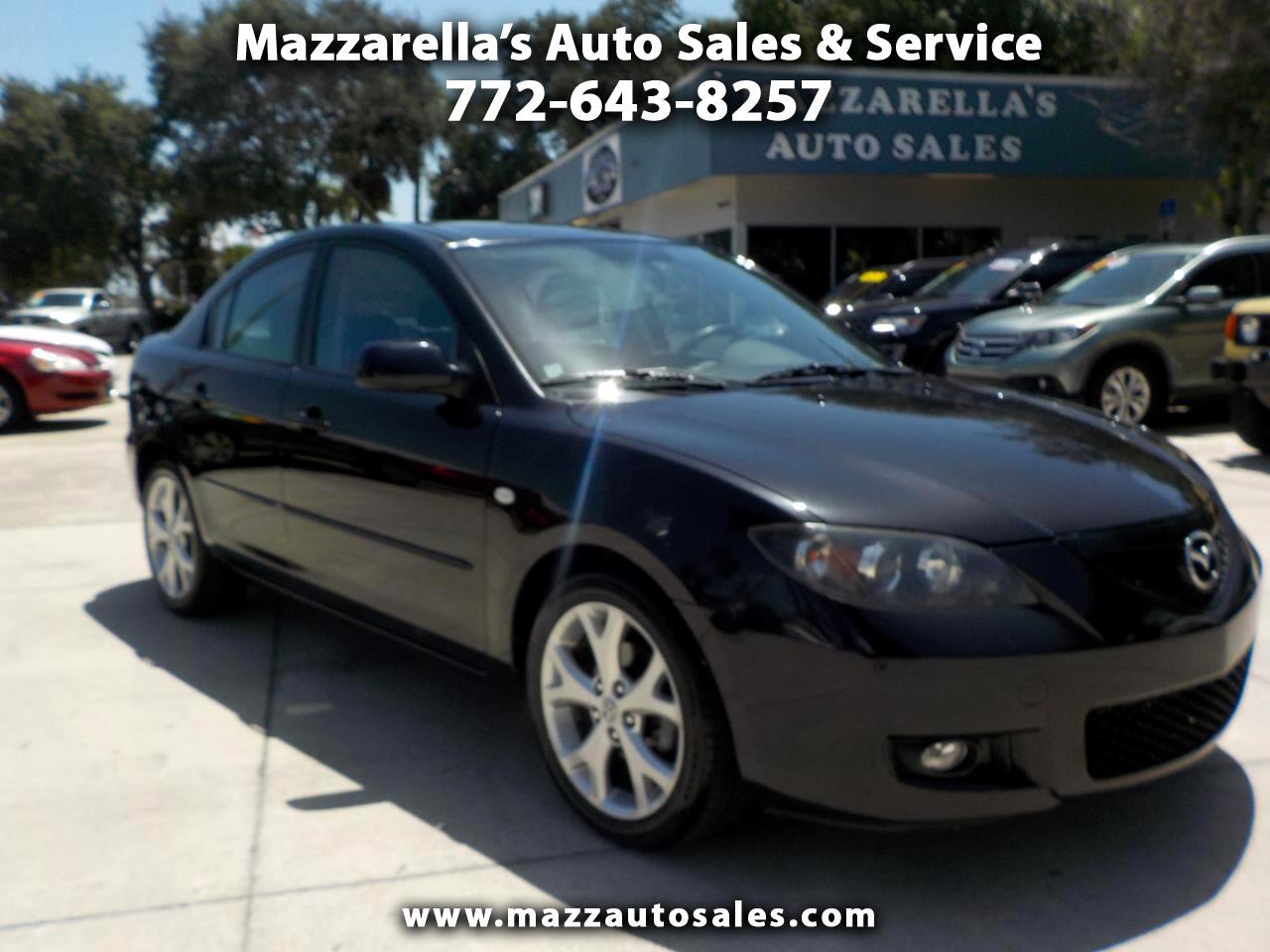 2009 Mazda MAZDA3 4dr Sdn Auto i Touring Value