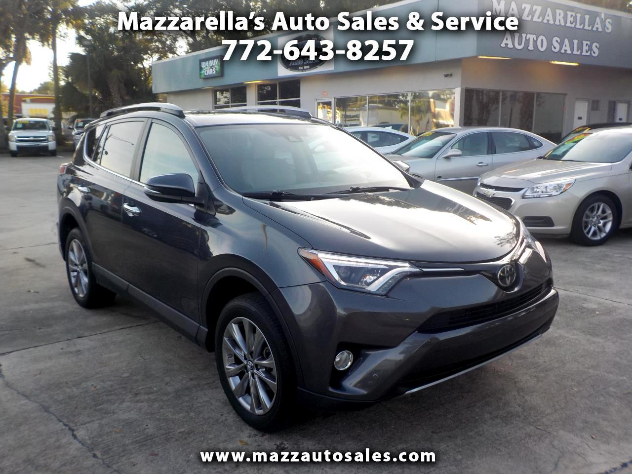 2017 Toyota RAV4 Limited FWD (Natl)