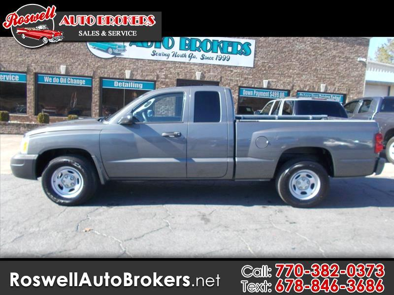 buy here pay here 2006 dodge dakota st club cab 2wd for sale in atlanta ga 30120 roswell auto. Black Bedroom Furniture Sets. Home Design Ideas