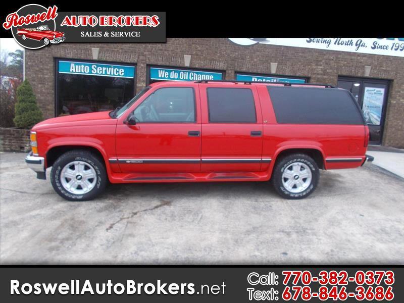 1997 Chevrolet Suburban K1500 4WD