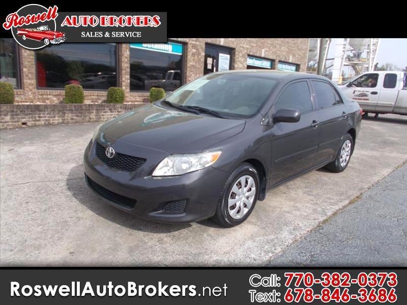 2009 Toyota Corolla Base 4-Speed AT