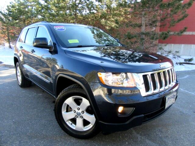 2012 Jeep Grand Cherokee Laredo 4WD Leather Moon Roof Navigation