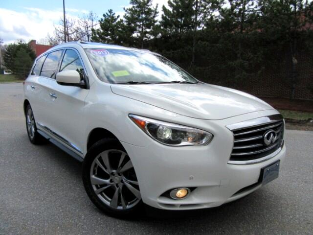 2013 Infiniti JX AWD NAVIGATION DVD ENTERTAINMENT 7 PASS