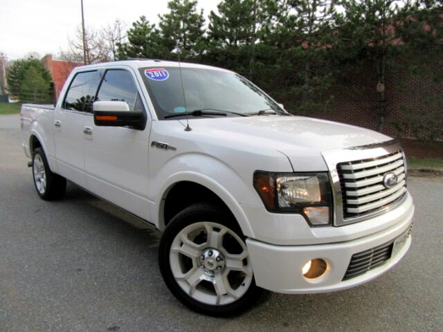 2011 Ford F-150 Lariat Limited SuperCrew 6.5-ft Bed 4WD