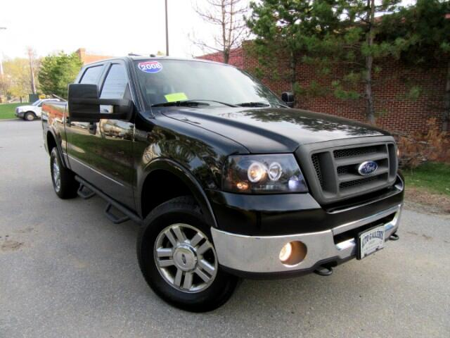 2008 Ford F-150 LARIAT SUPERCREW 4WD NAVIGATION LEATHER