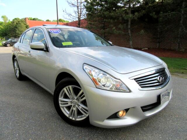2012 Infiniti G Sedan 37X AWD NAVIGATION BACKUP CAMERA