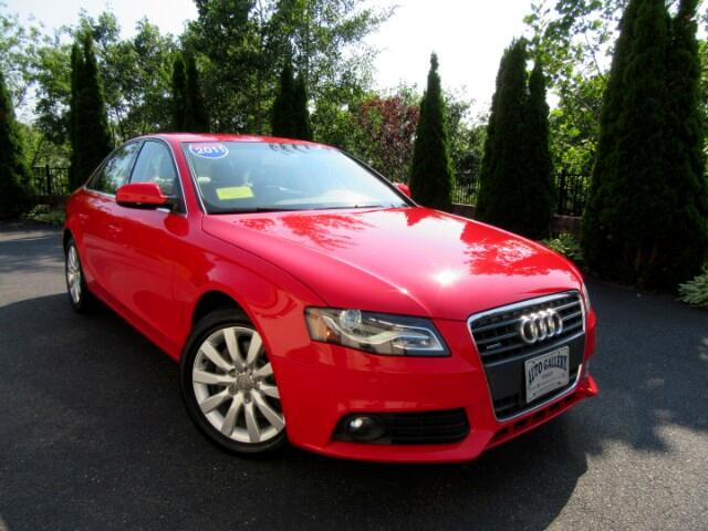 2011 Audi A4 2.0T sedan Quattro Premium Plus Navigation Backup