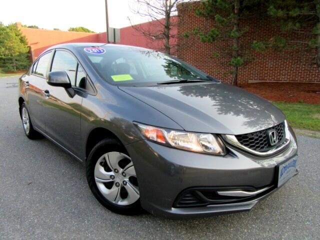 2013 Honda Civic LX Sedan AT Backup Camera