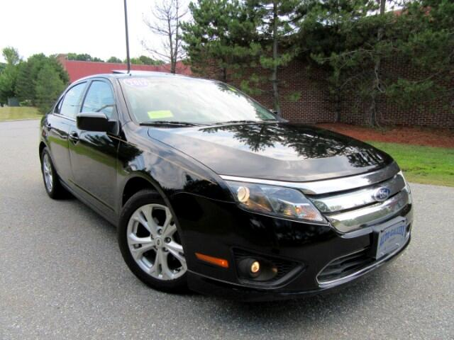 2012 Ford Fusion 4dr Sdn I4 SE Moon Roof