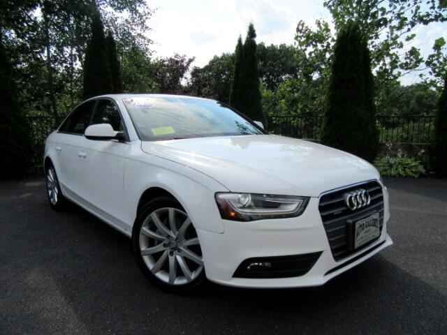 2013 Audi A4 2.0T Sedan Quattro Primiums Plus Navigation