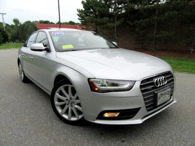 2013 Audi A4 2.0T Sedan Quattro Premium Plus Navigation