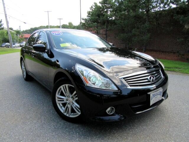 2013 Infiniti G Sedan 37X AWD NAVIGATION BACKUP CAMERA