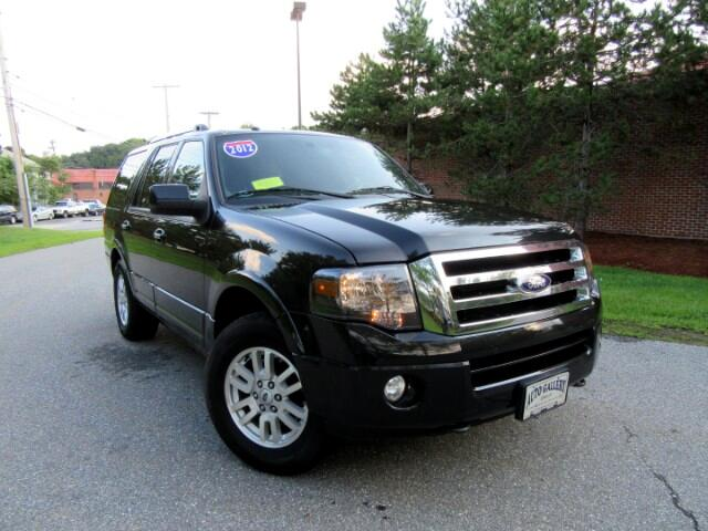 2012 Ford Expedition Limited 4WD Navigation DVD Entertainment