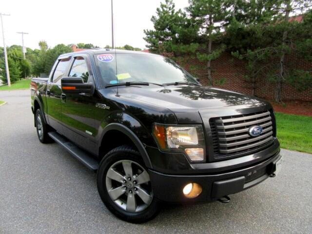 2011 Ford F-150 FX4 SuperCrew  Leather  5.5 -ft. Bed 4WD  Bed Line