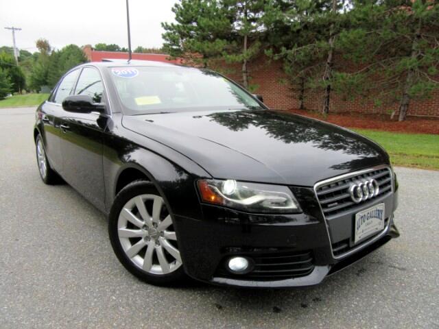 2011 Audi A4 2.0 T Sedan Quatrro Premium Plus Navigation