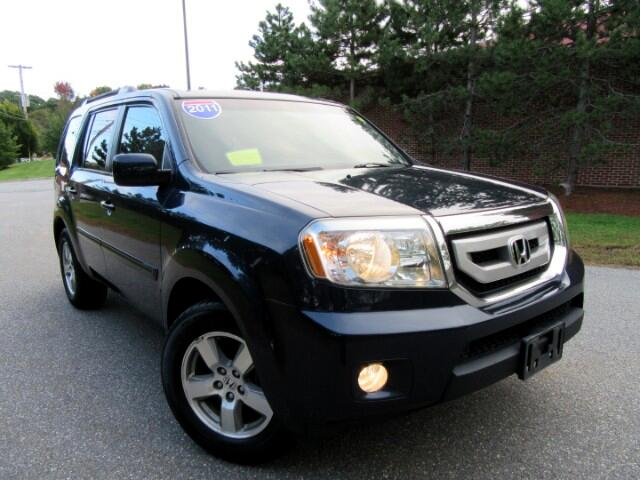 Used 2011 Honda Pilot Ex L 4wd 5 Spd At With Dvd For Sale