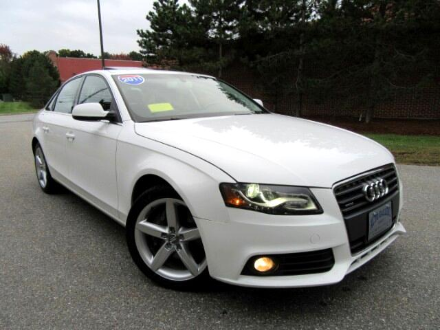 2011 Audi A4 2.0T Sedan quattro Premium Plus Navigation