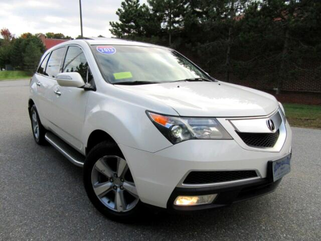 2012 Acura MDX 6-Spd AT w/Tech and Entertainment Package