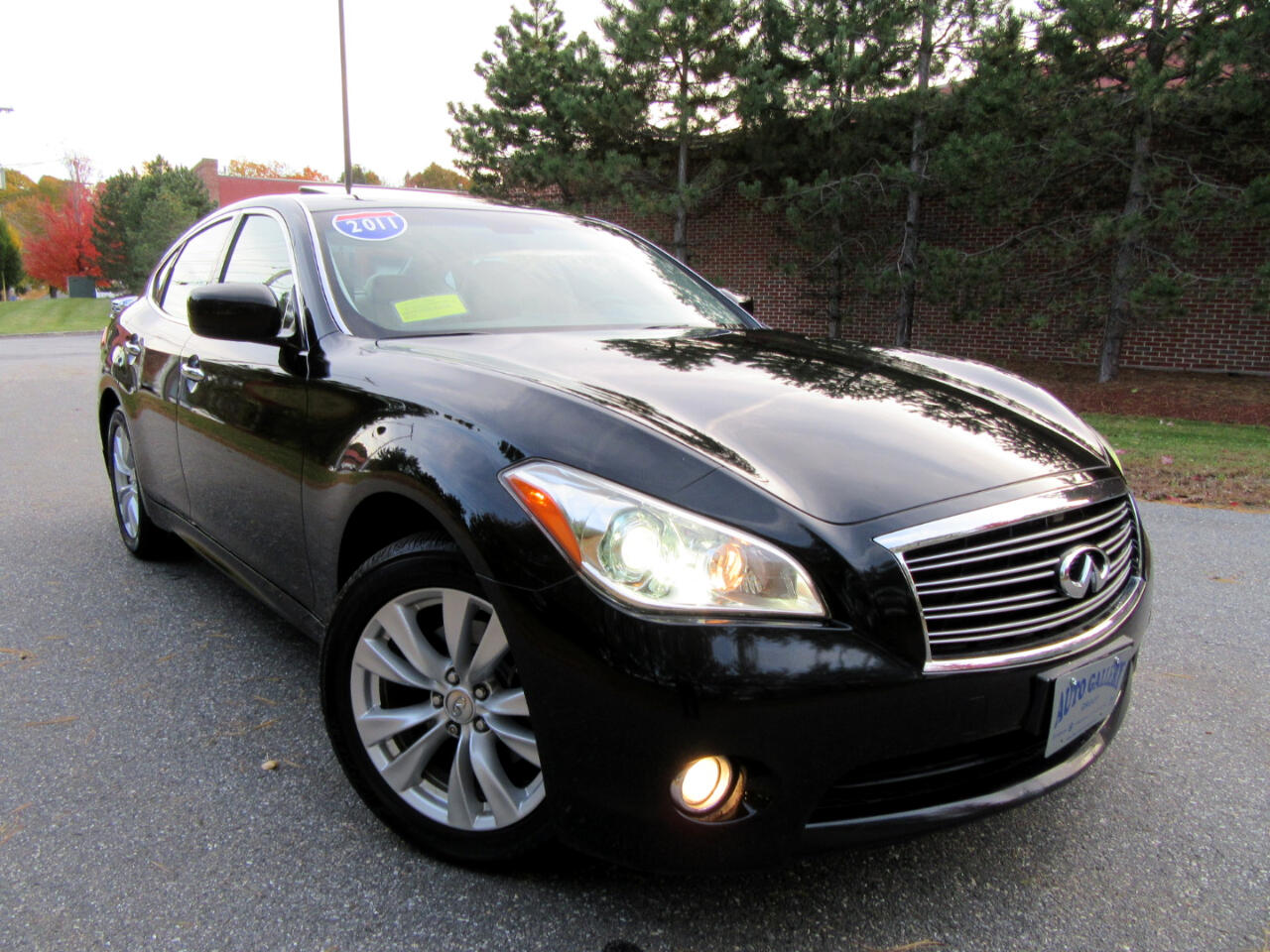 2011 Infiniti M37 4 dr Sdn AWD Navigation Backup Camera