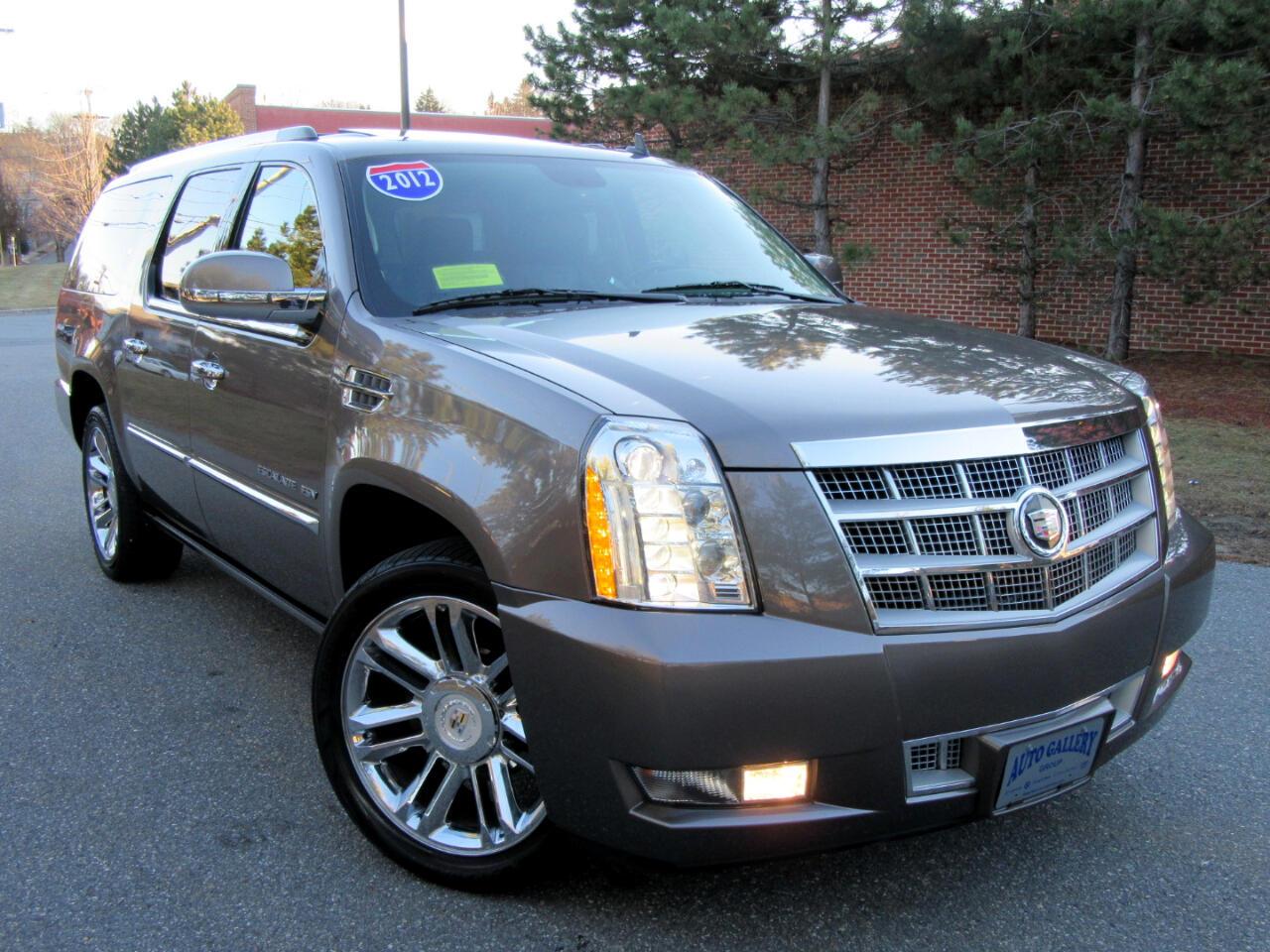 2012 Cadillac Escalade ESV AWD 4dr Platinum Edition