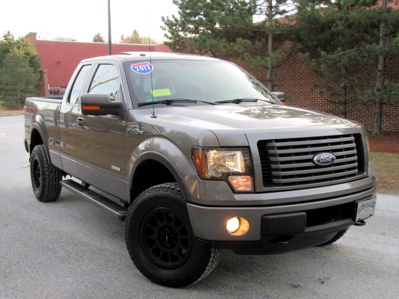 2012 Ford F-150 4WD EXT CAB 3.5L FX4 NAVIGATION LEATHER MOON ROOF