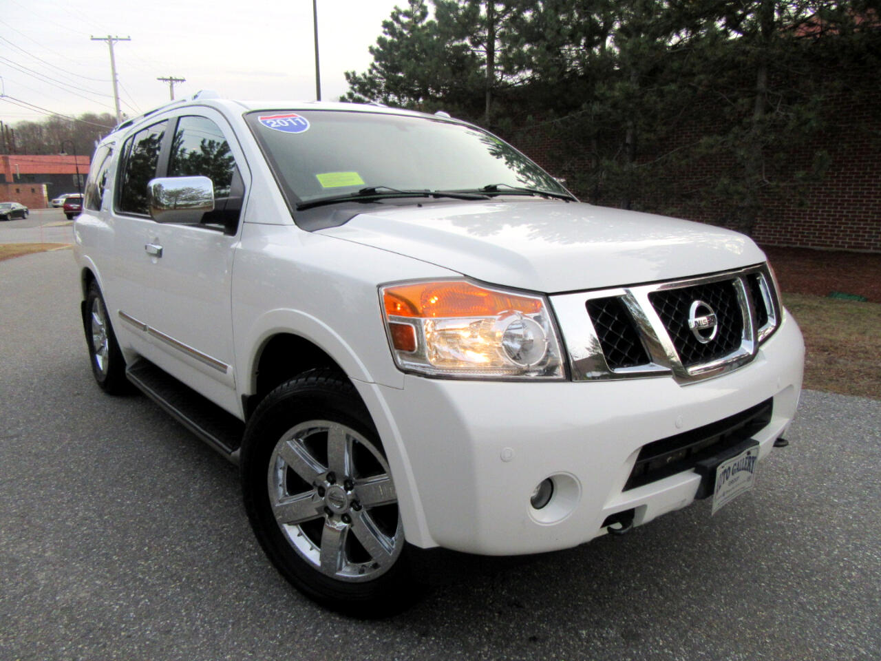 2011 Nissan Armada 4WD 4dR Platinum Navigation DVD Entertainment