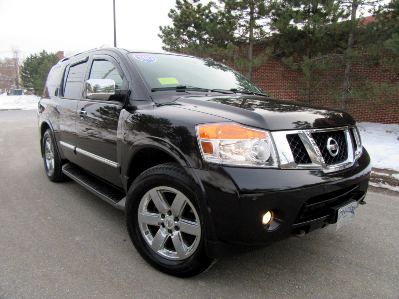 2013 Nissan Armada 4WD 4dr Platnum Navigation DVD Entertainment