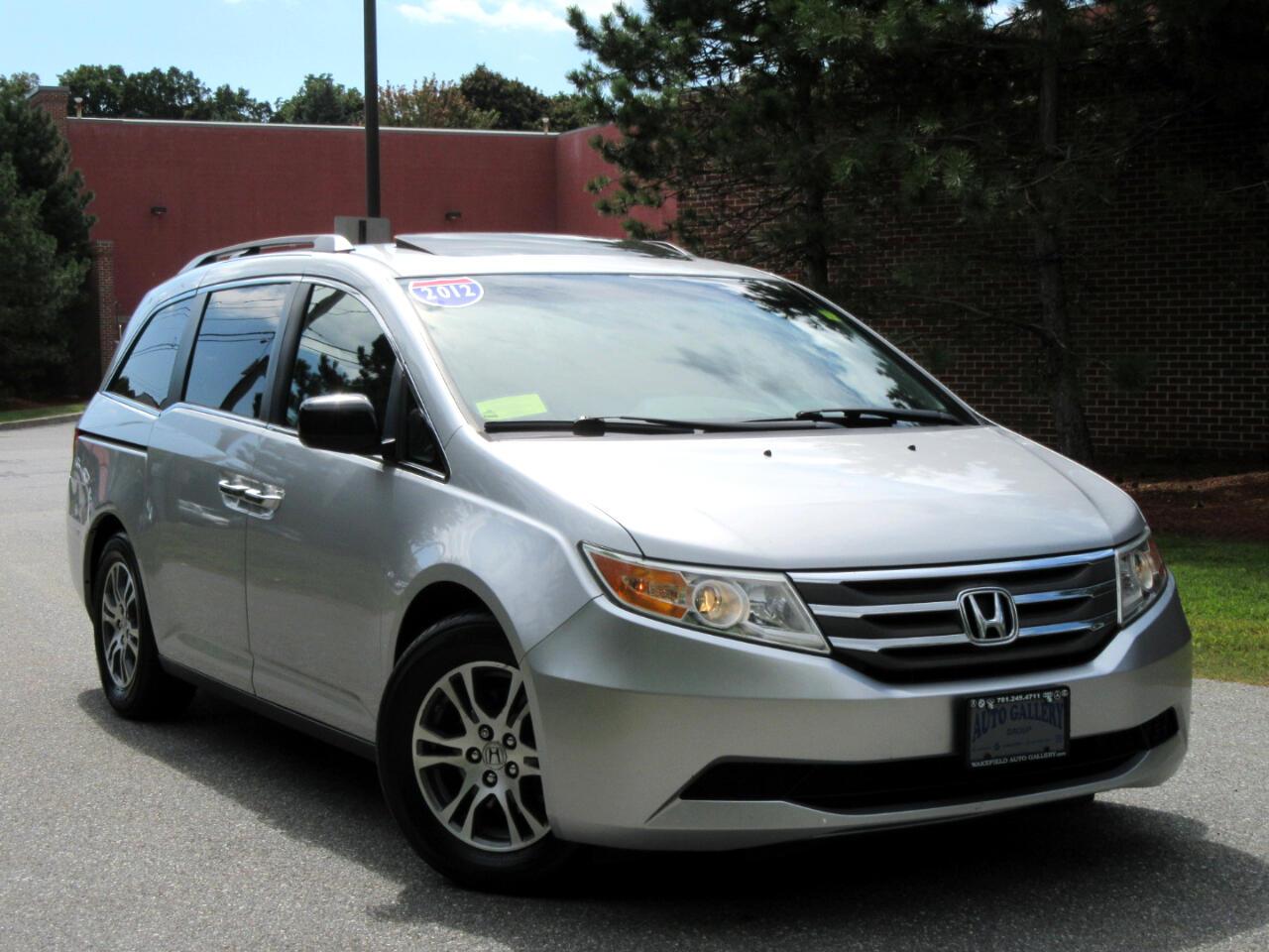 2012 Honda Odyssey 5dr EX-L W/Navigation DVD Entertainment 8 Seating