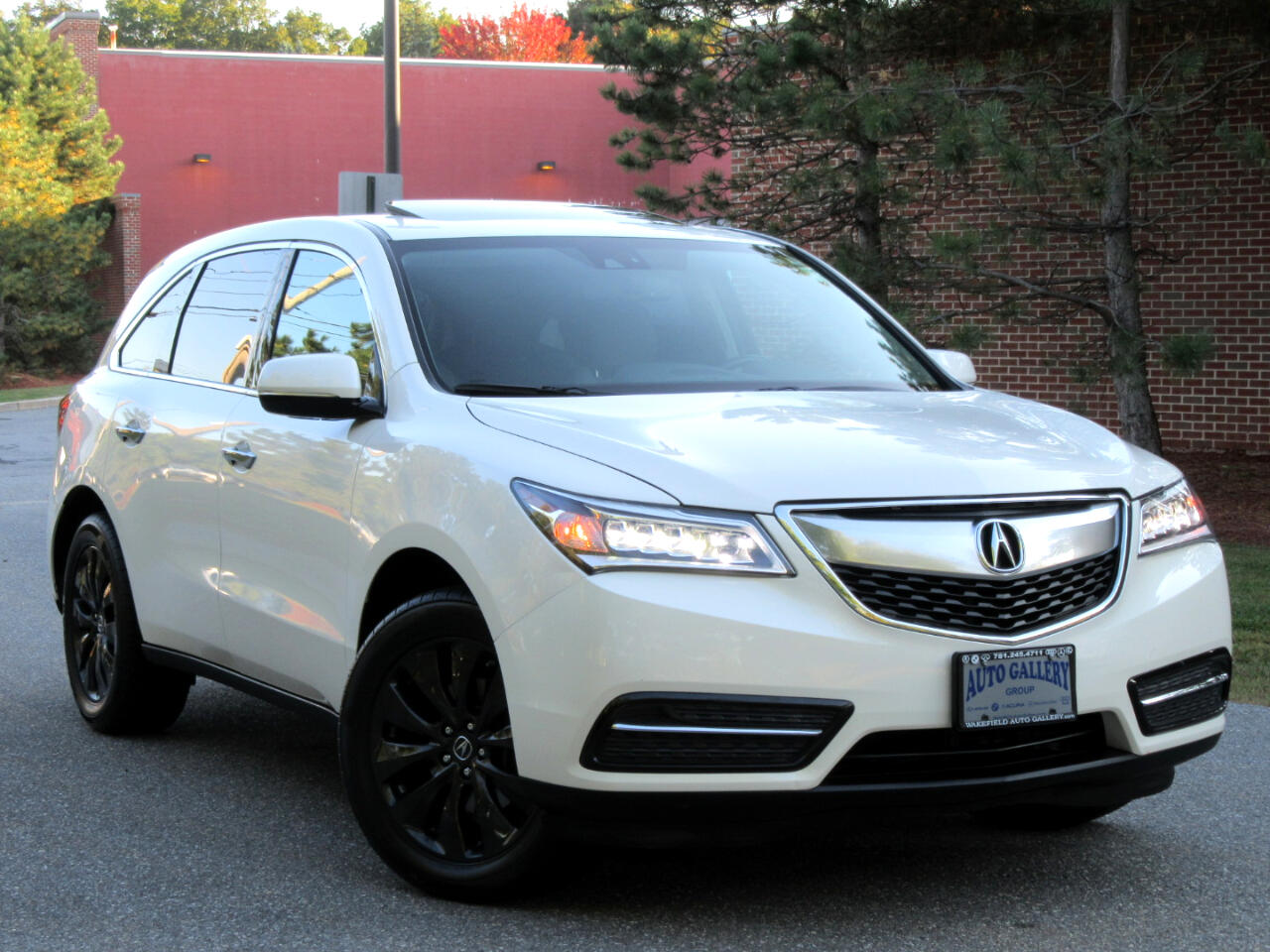 2014 Acura MDX SH-AWD 4dr Tech Pkg Navigation Backup Camera