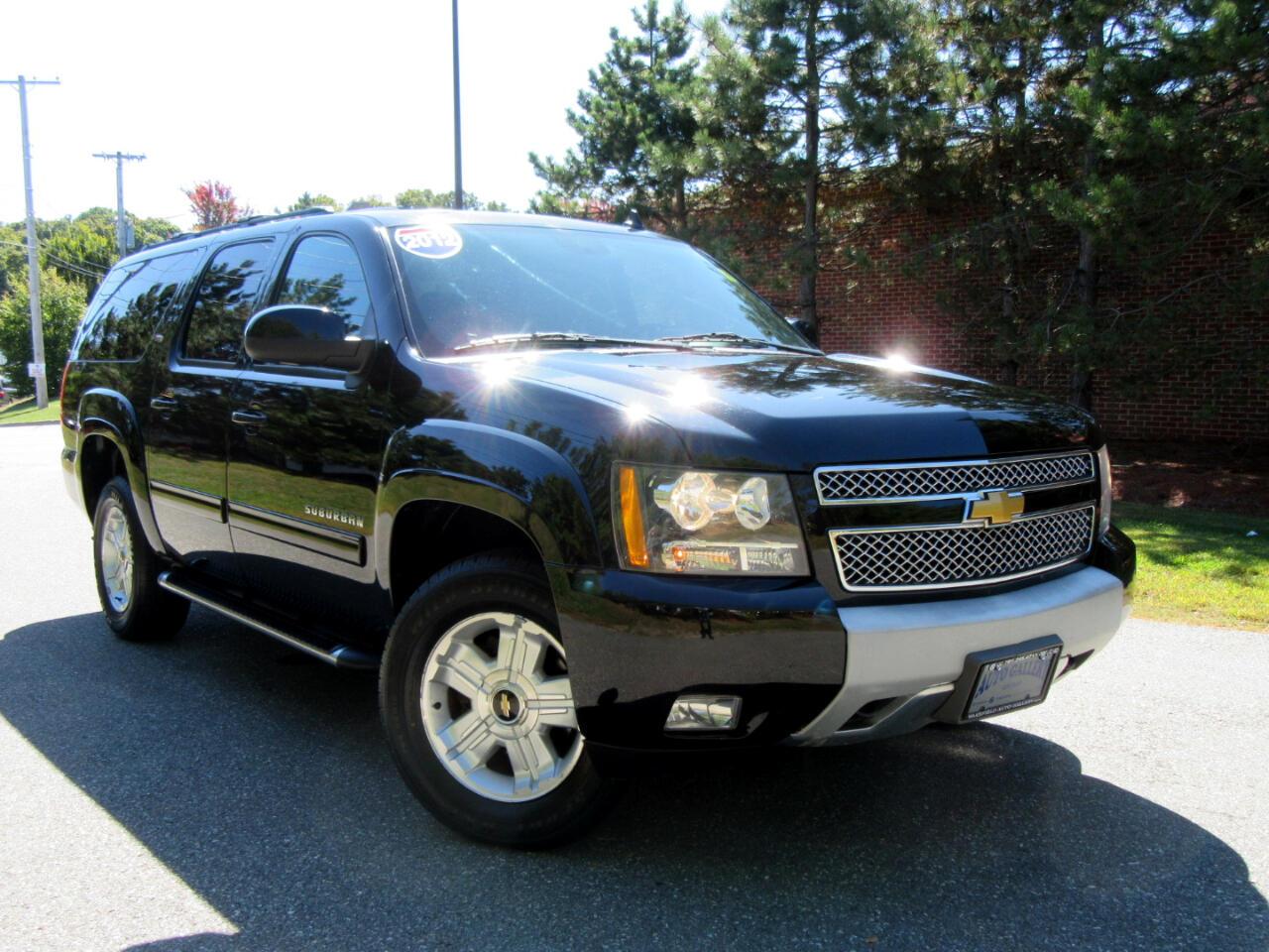 2012 Chevrolet Suburban 4WD 4dr 1500 LT Z71 Leather Navigation Backup Came