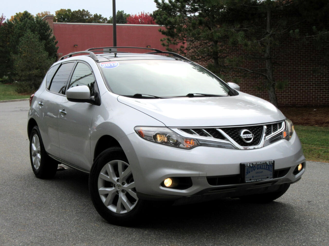 2012 Nissan Murano AWD 4dr SL Leather Navigation Backup Camera