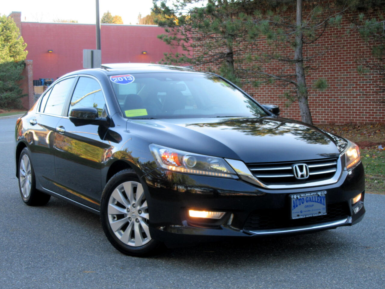 2013 Honda Accord Sdn 4dr I4 CVT EX-L LEATHER BACKUP CAMERA